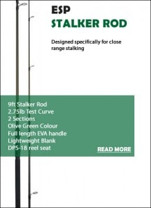ESP 9ft Stalker Rod