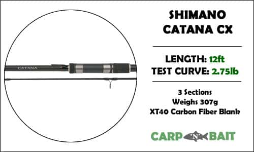 Shimano Catana Carp Rod Review