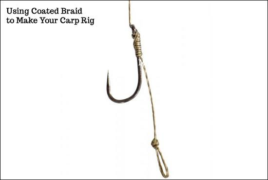 Coated Braid for Carp Rigs