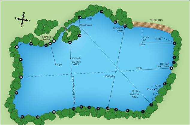 Sandhurst Lake Map
