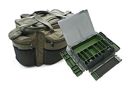 Carp Tackle Luggage (Holdall, Storage Box & Rig Box)