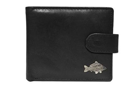 Personalised Carp Leather Wallet