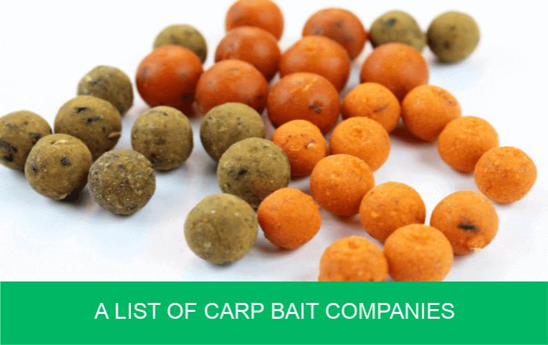A List of Carp Bait Companies | Carp 'n' Bait co uk