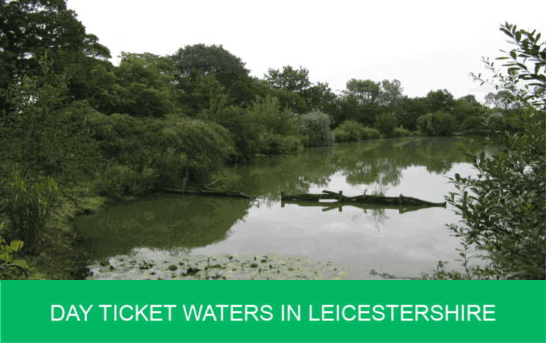Day Ticket Waters in Leicestershire