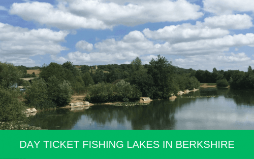 Day Ticket Fishing Lakes in Berkshire