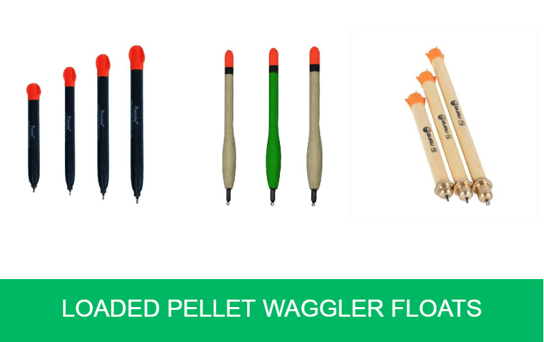 Loaded Pellet Waggler Floats