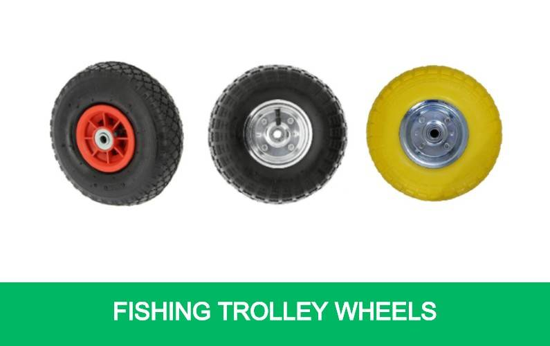 Fishing Trolley Wheels