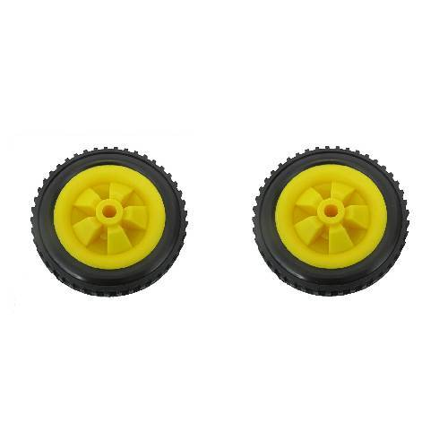 PAIR 146mm trolley fishing trolley wheels