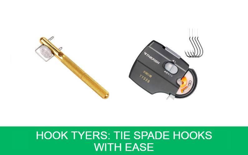 Hook Tyers Tie Spade Hooks With Ease